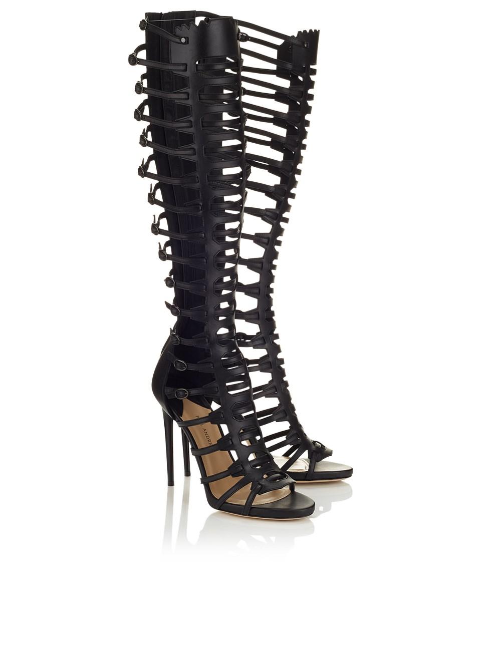 Gladiator Heels Black