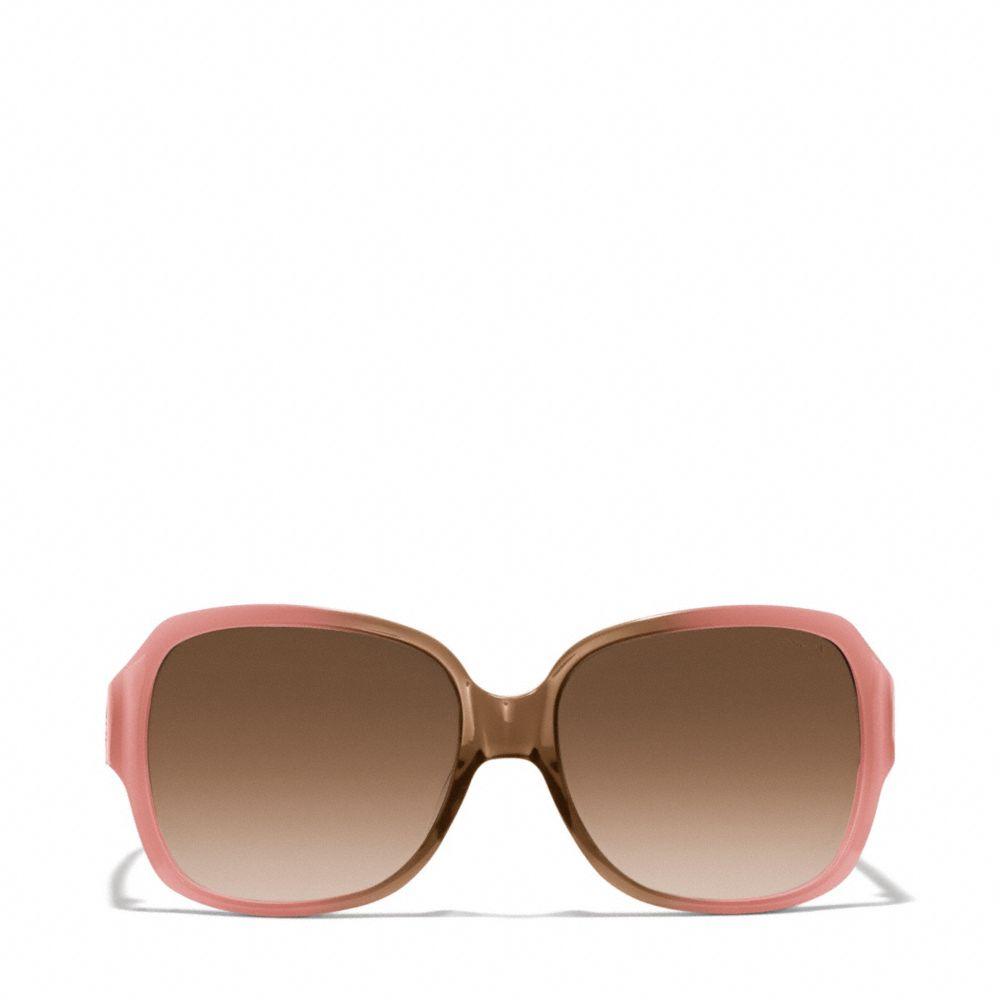 Pink Coach Sunglasses  coach bridget sunglasses in pink lyst