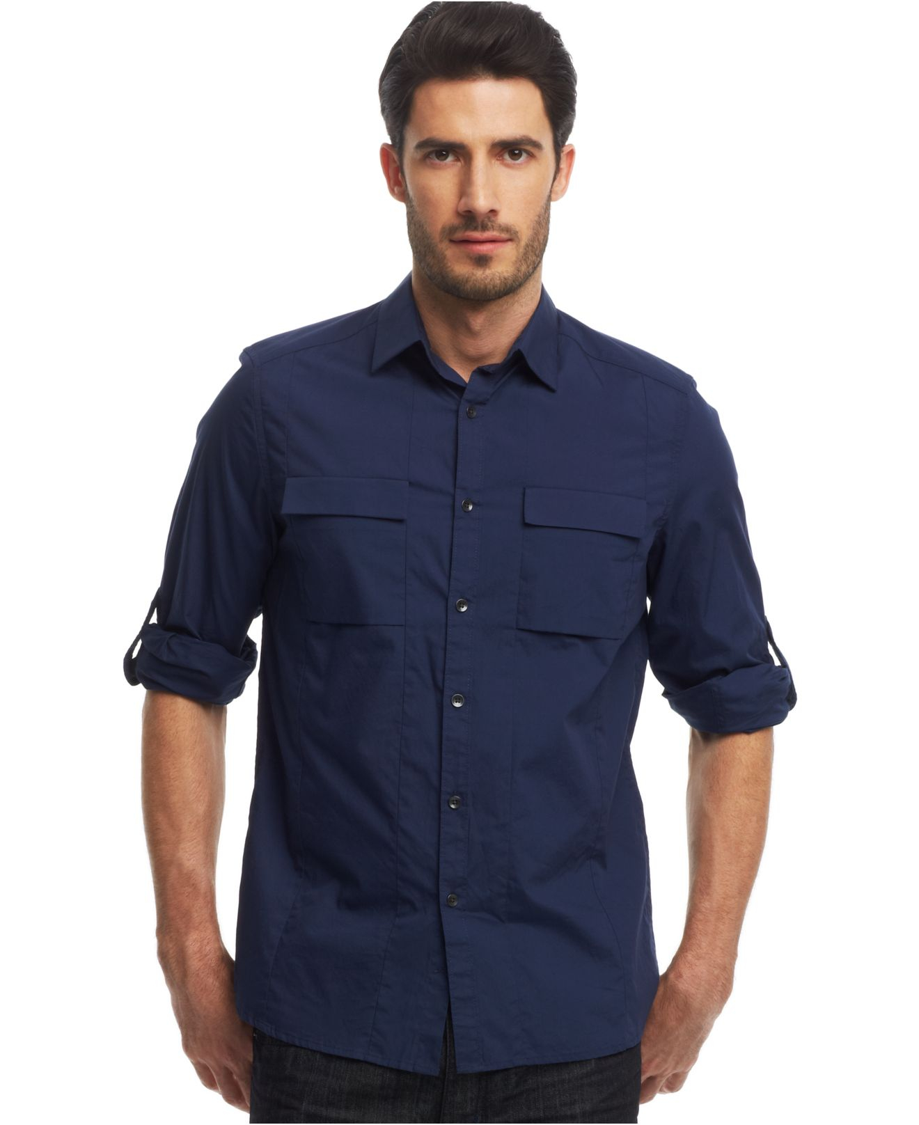 Find mens roll tab sleeve shirt at ShopStyle. Shop the latest collection of mens roll tab sleeve shirt from the most popular stores - all in one.