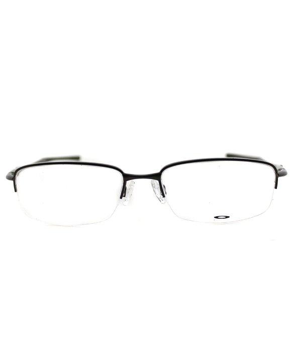 74f44b272b Lyst - Oakley Clubface Ox 3102 03 Pewter Semi-rimless Metal Eyeglasses-54mm  in