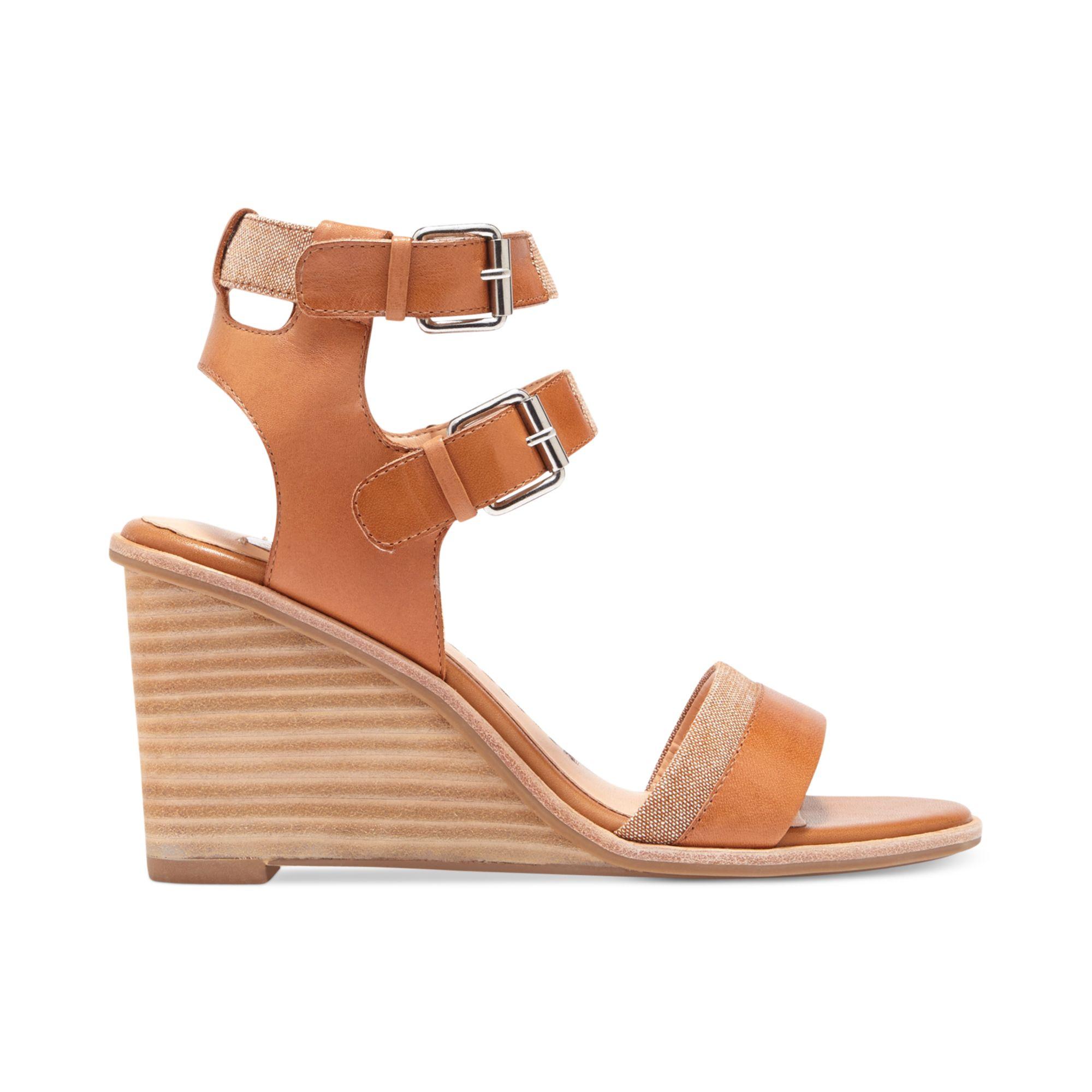 Dv Dolce Vita Tulle Espadrille Wedge Sandals: Dolce Vita Dv By Cassie Wedge Sandals In Brown (Honey)