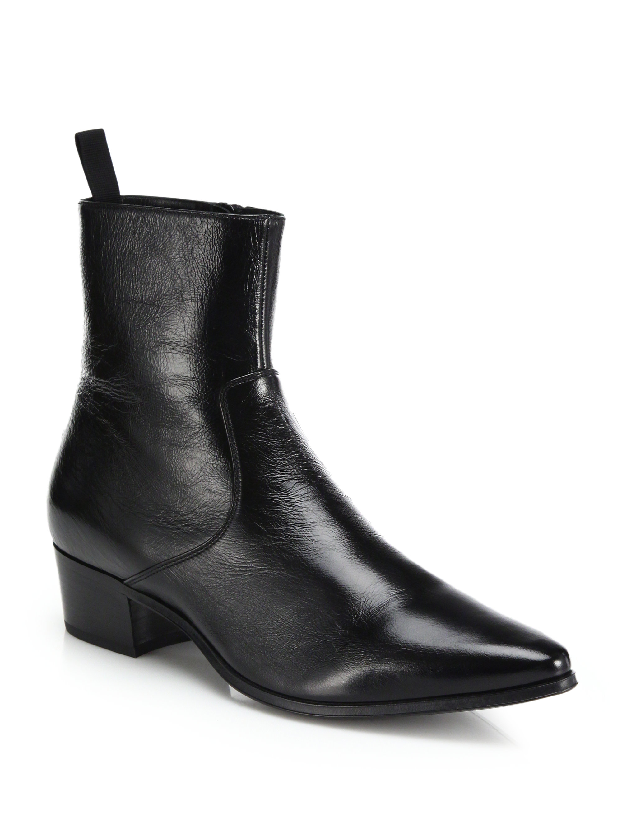Black Travis Boots Saint Laurent Cheap Fake Many Kinds Of Cheap Online Purchase Online pgbfhm