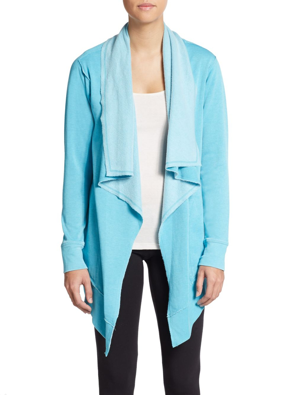 Lyst Calvin Klein Draped Dropped Shoulder Performance