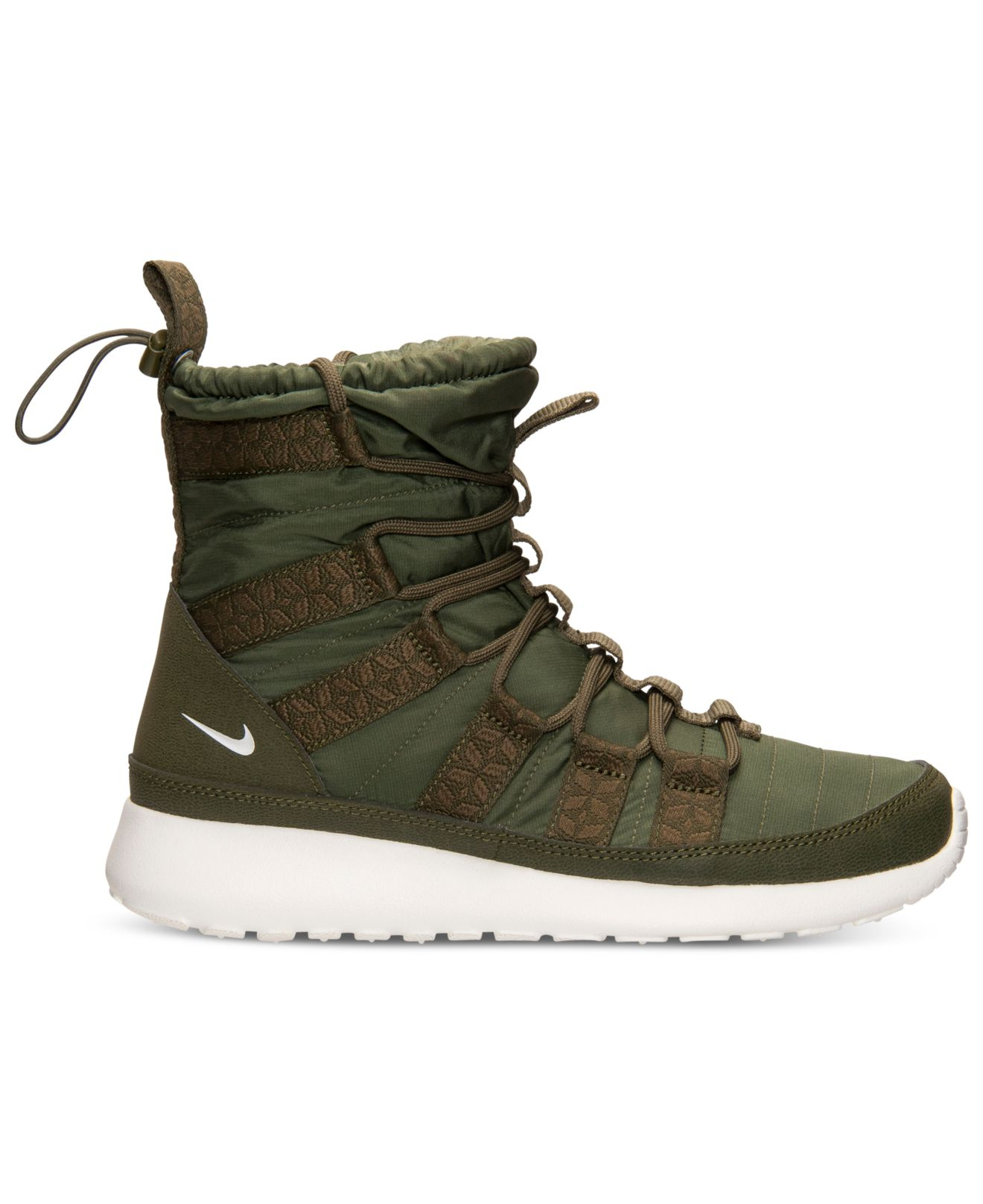 low priced d6e38 ba358 Green Women'S Roshe Run Hi Sneakerboots From Finish Line