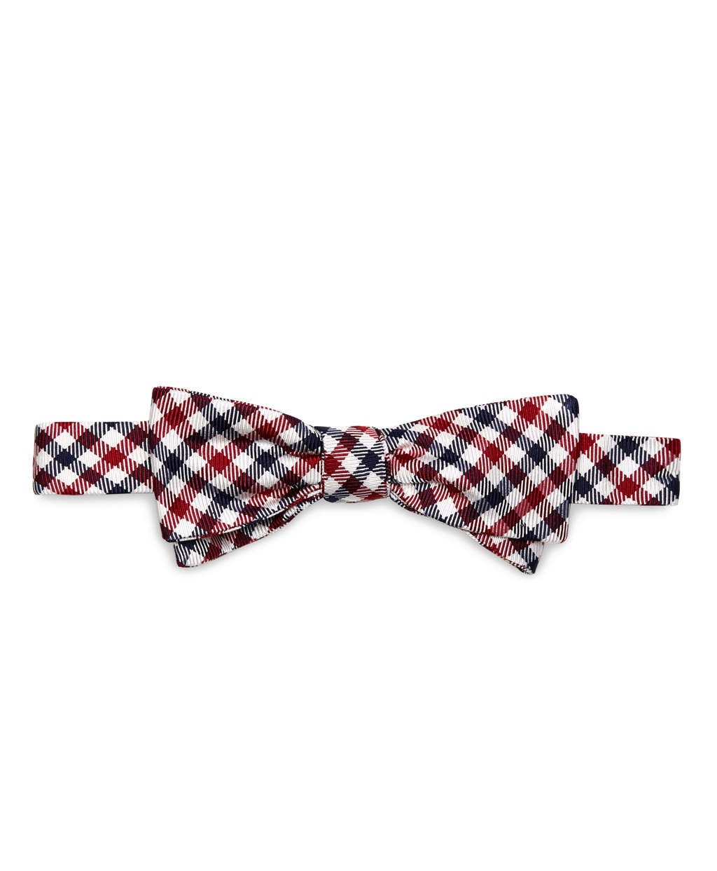 Lyst - Brooks Brothers Gingham Bow Tie in Blue for Men