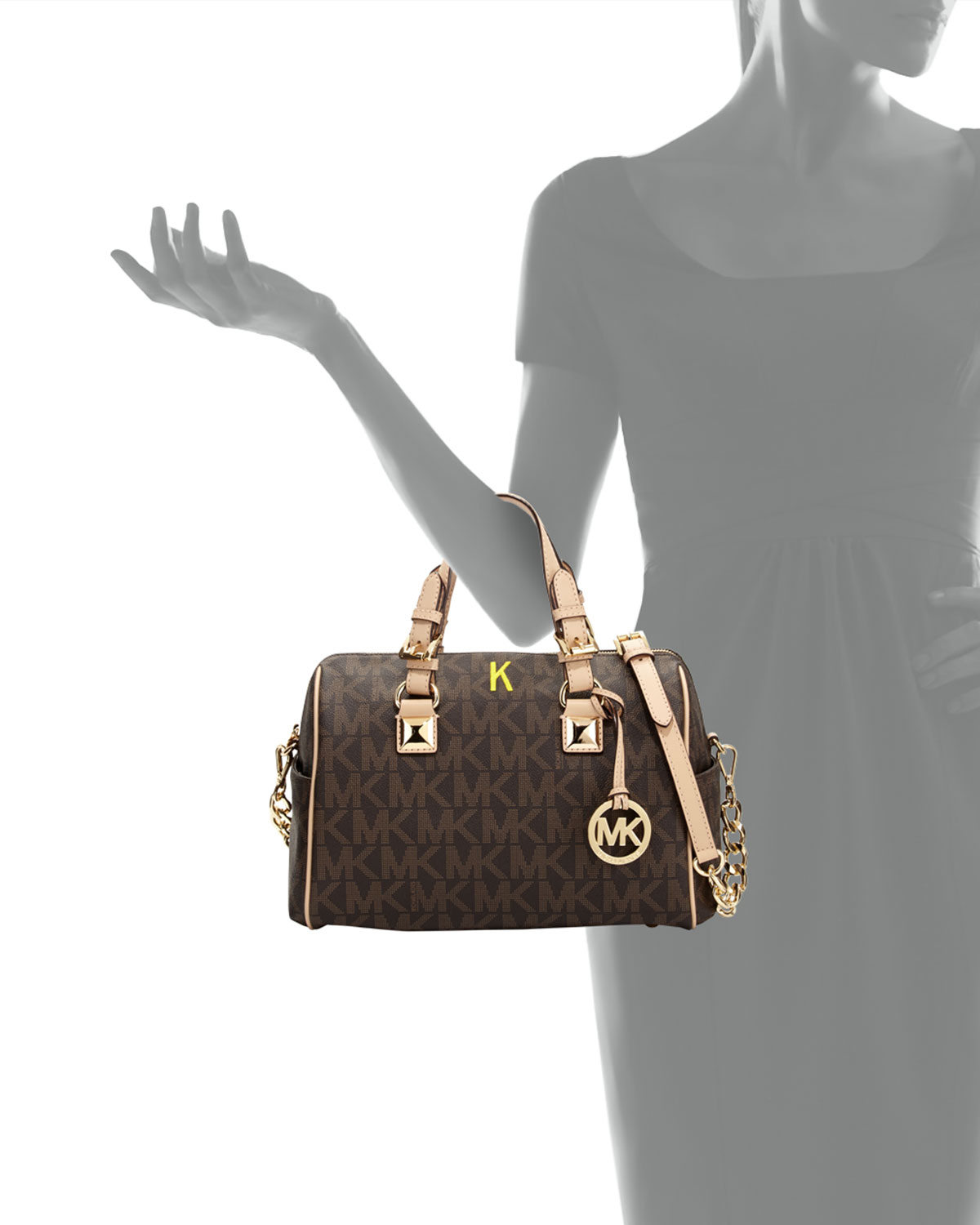 e2fb2256b2fa reduced michael kors grayson satchel 1f9f8 542ee; sweden gallery.  previously sold at neiman marcus womens michael kors grayson 60c25 80595