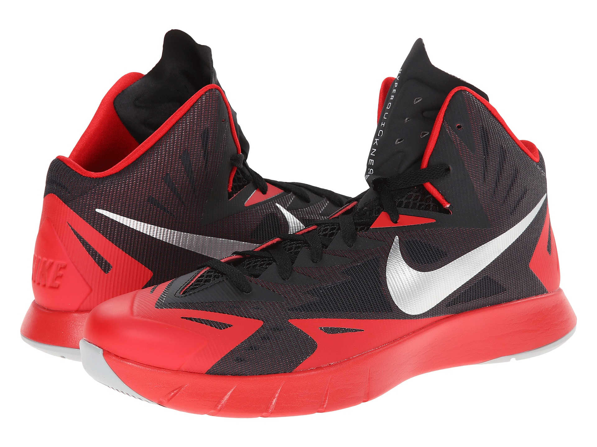 the latest c82a7 54576 Nike Lunar Hyperquickness in Red for Men - Lyst