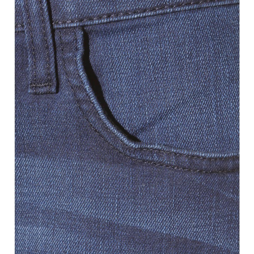 Current/Elliott The Fling Cropped Boyfriend Jeans in Blue