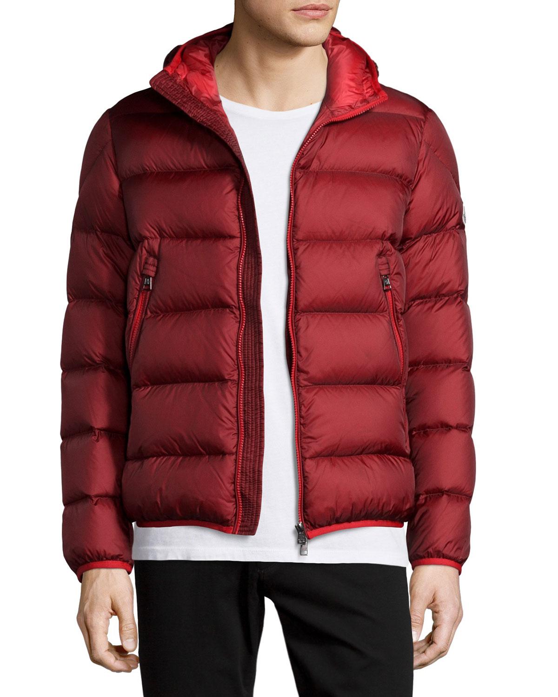 42dd2bf8b usa moncler burgundy jacket b578c bdf30