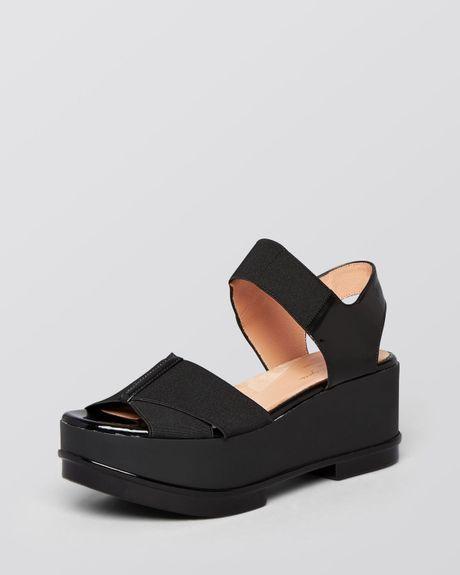 robert clergerie open toe platform wedge sandals farni in