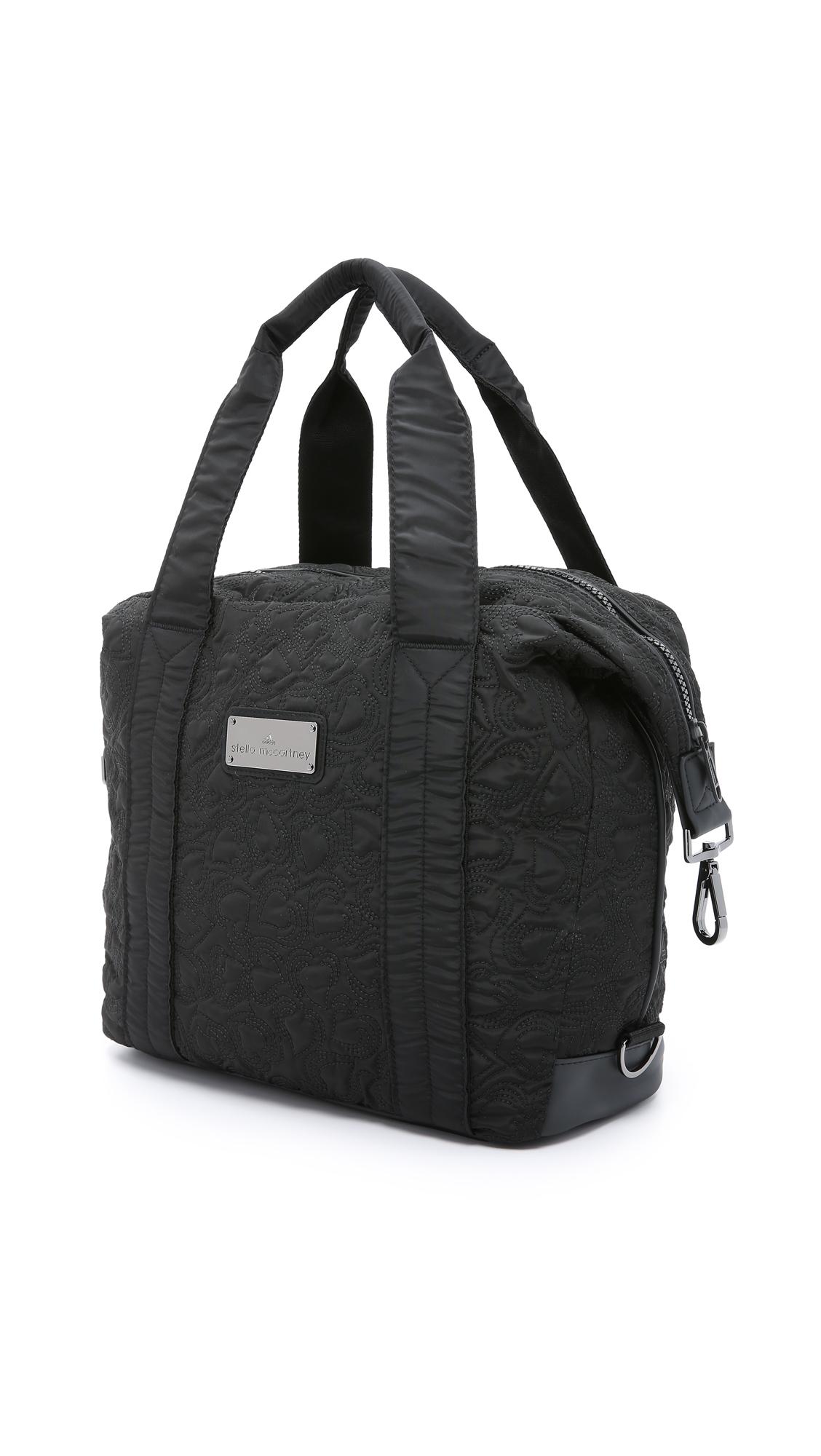 ... differently b1821 3cf74 Lyst - Adidas By Stella Mccartney Small Gym Bag  - Black in B ... eae9db4f77