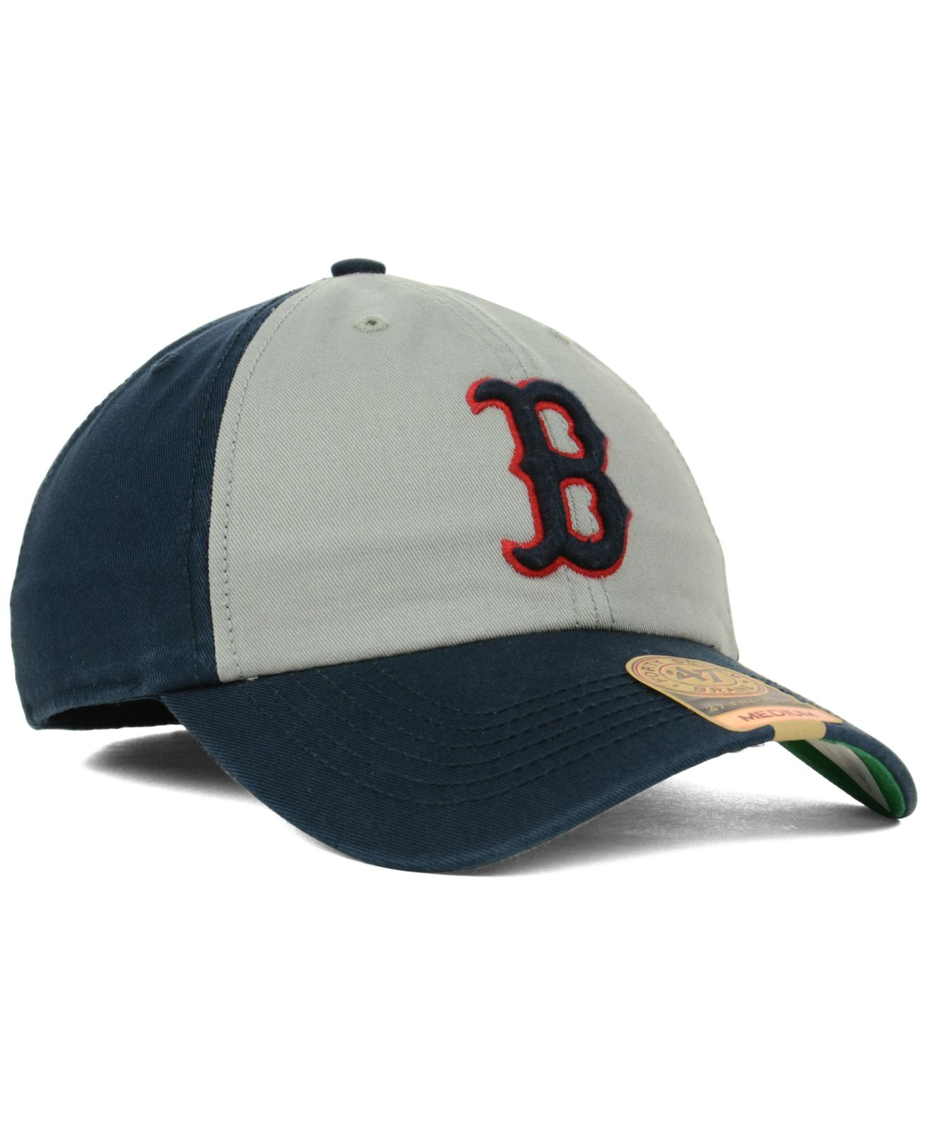 aa31bbdf87b Lyst - 47 Brand Boston Red Sox Vip Franchise Cap in Gray for Men