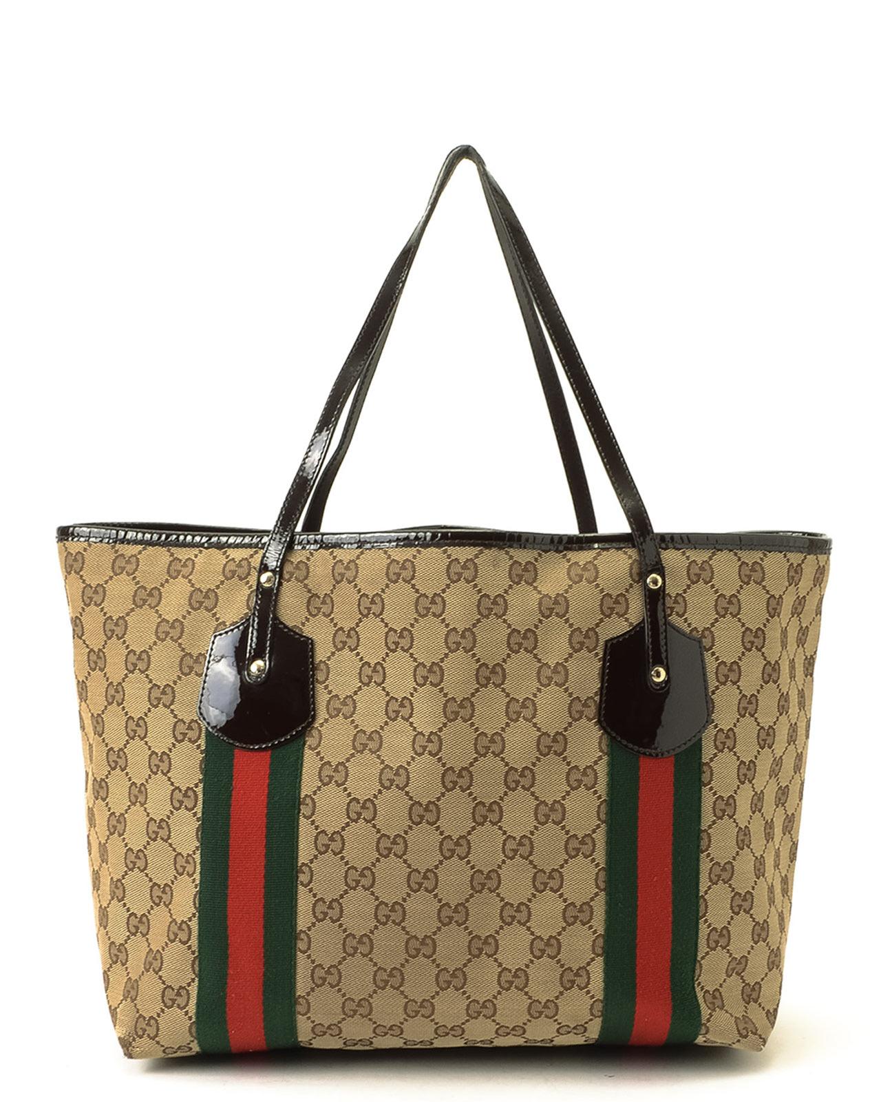 ffc794acabd6 Gucci Jolie Tote Bag in Natural - Lyst