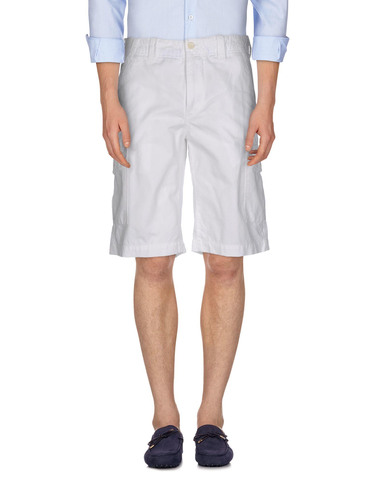 tommy hilfiger bermuda shorts in white for men lyst. Black Bedroom Furniture Sets. Home Design Ideas