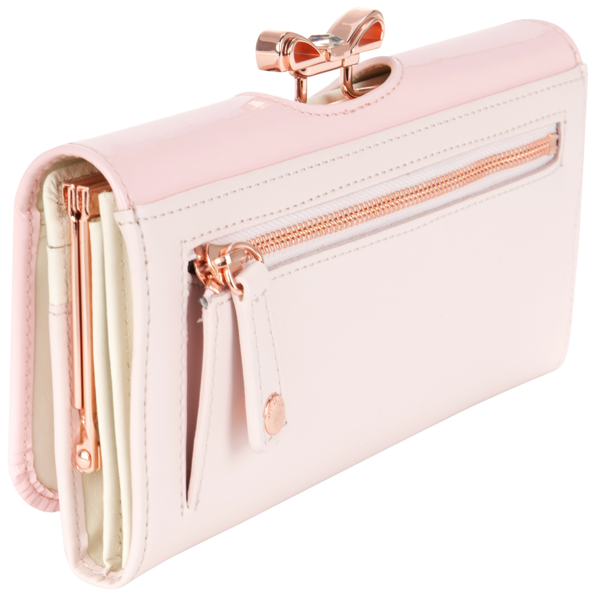 a89f8865d66c Ted Baker Harrin Crystal Bow Matinee Purse in Pink - Lyst
