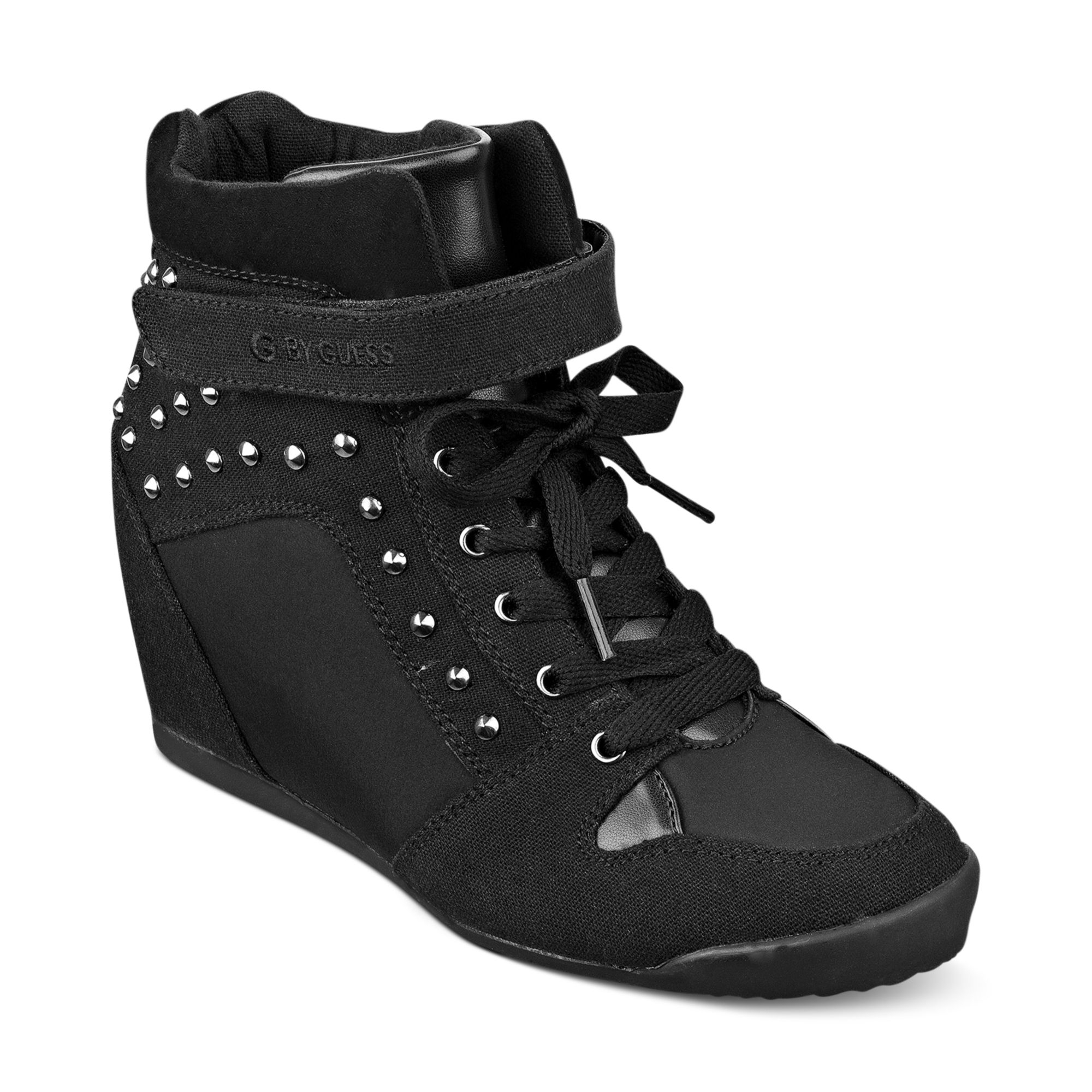 933823e687f Glitter In Raurie Shoes By Lyst Wedge G Sneakers Guess BnXw4xFZSq