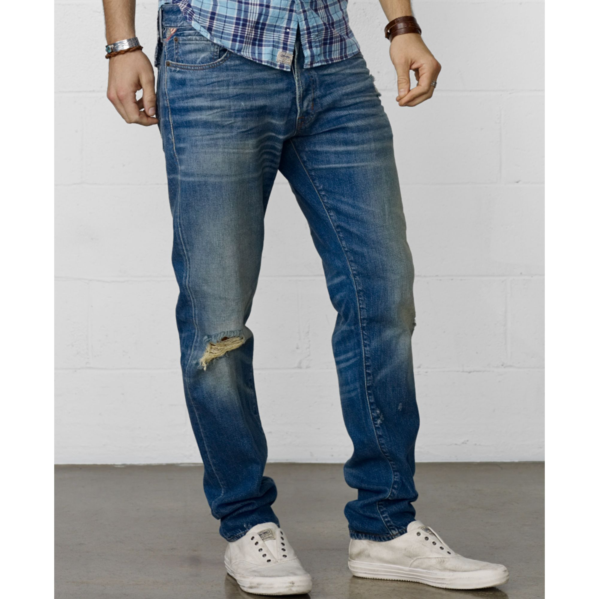Lyst - Denim   Supply Ralph Lauren Fern Slimfit Jeans in Blue for Men 9b8f748b2915