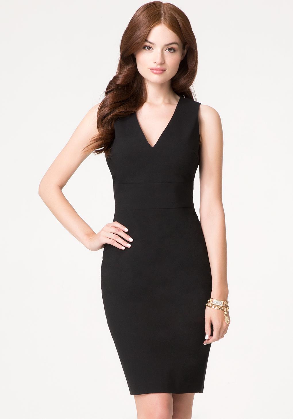 Black dress bebe - Gallery