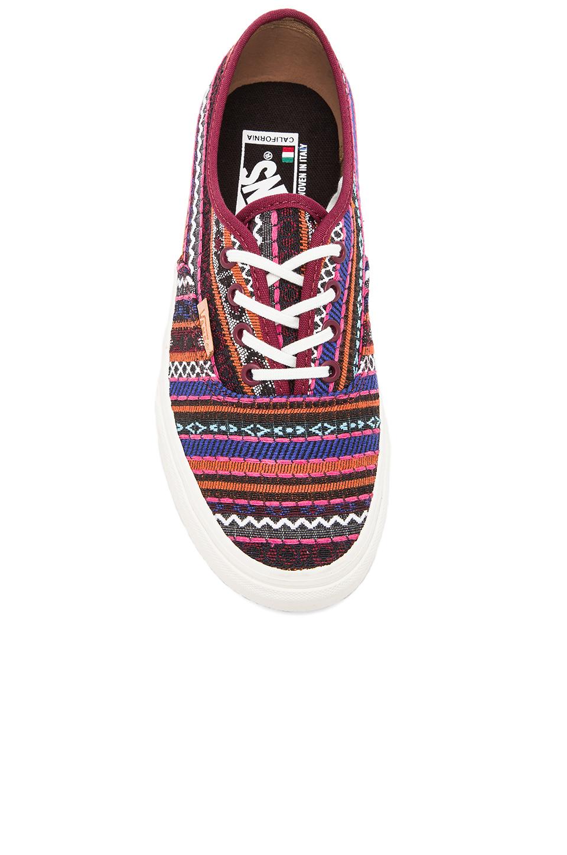 cc6958ffd9 Lyst - Vans Authentic Ca Italian Weave Sneaker