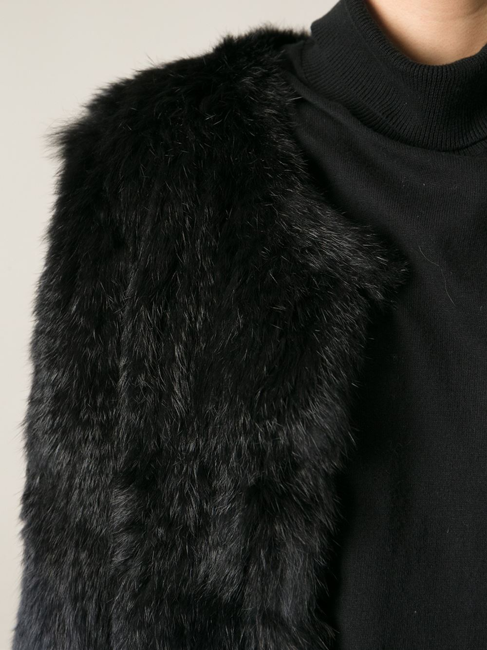 new arrive 100% high quality hot new products Cropped Fur Jacket