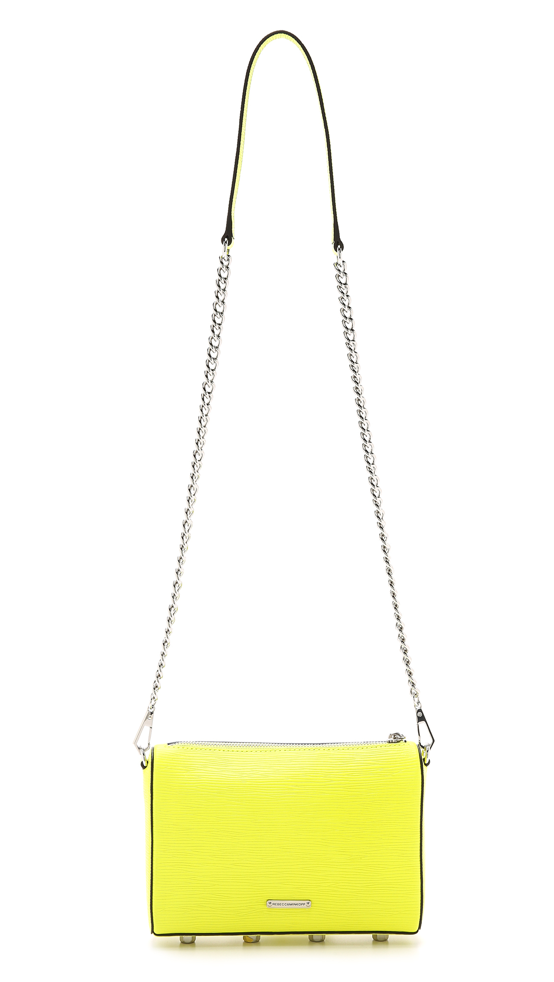 Rebecca Minkoff Avery Cross Body Bag - Electric Yellow