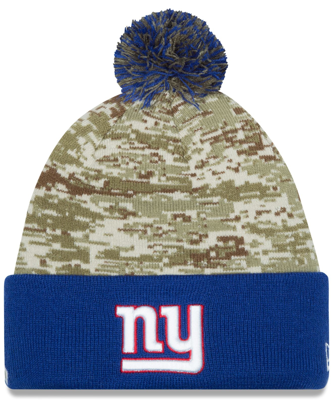 73820b231 ... best price lyst ktz new york giants salute to service knit hat in green  for men