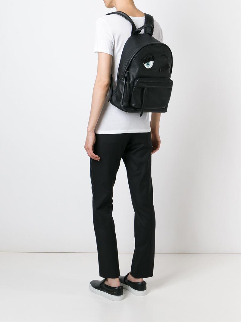 Flirting backpack - Black Chiara Ferragni mEnU4wfVrY