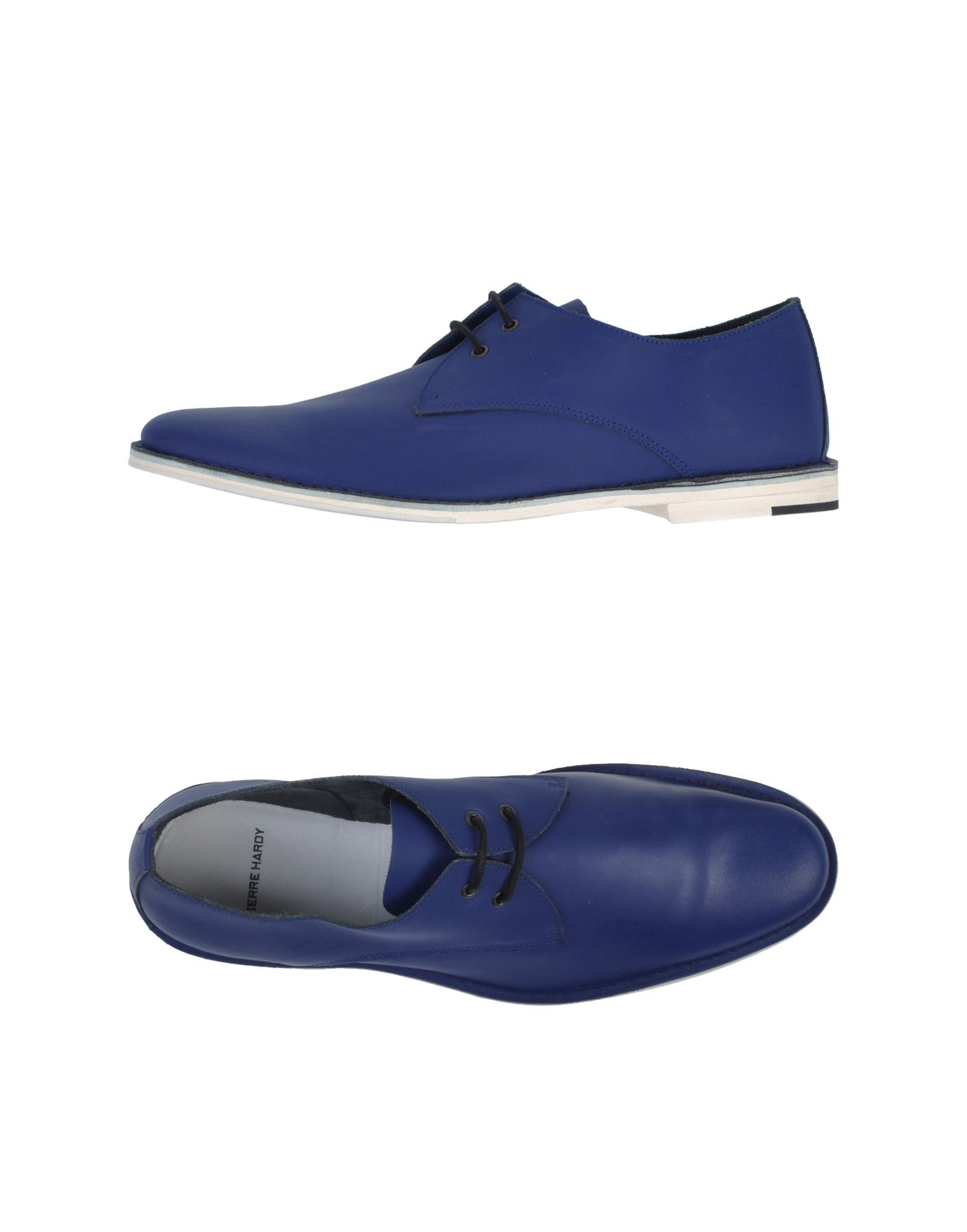 pierre hardy lace up shoes in blue for men dark blue save 59 lyst. Black Bedroom Furniture Sets. Home Design Ideas