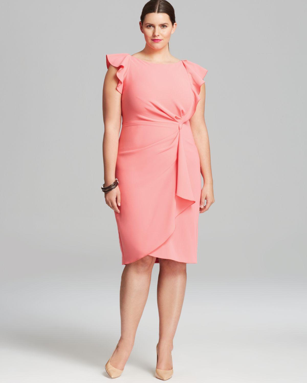 4672791b3a9 Marina Rinaldi Plus Danzante Dress in Red - Lyst