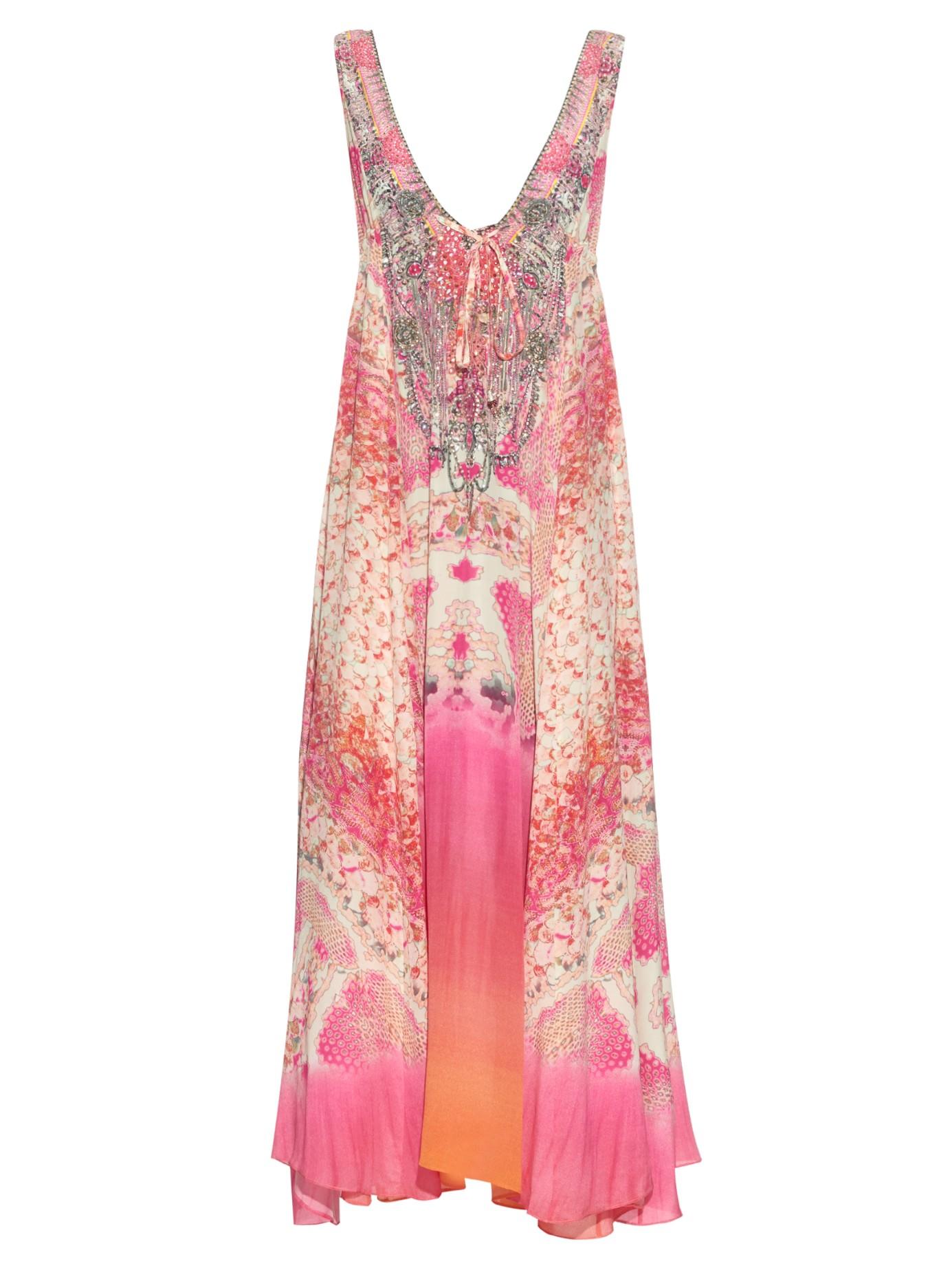 lyst camilla sea serpent dress