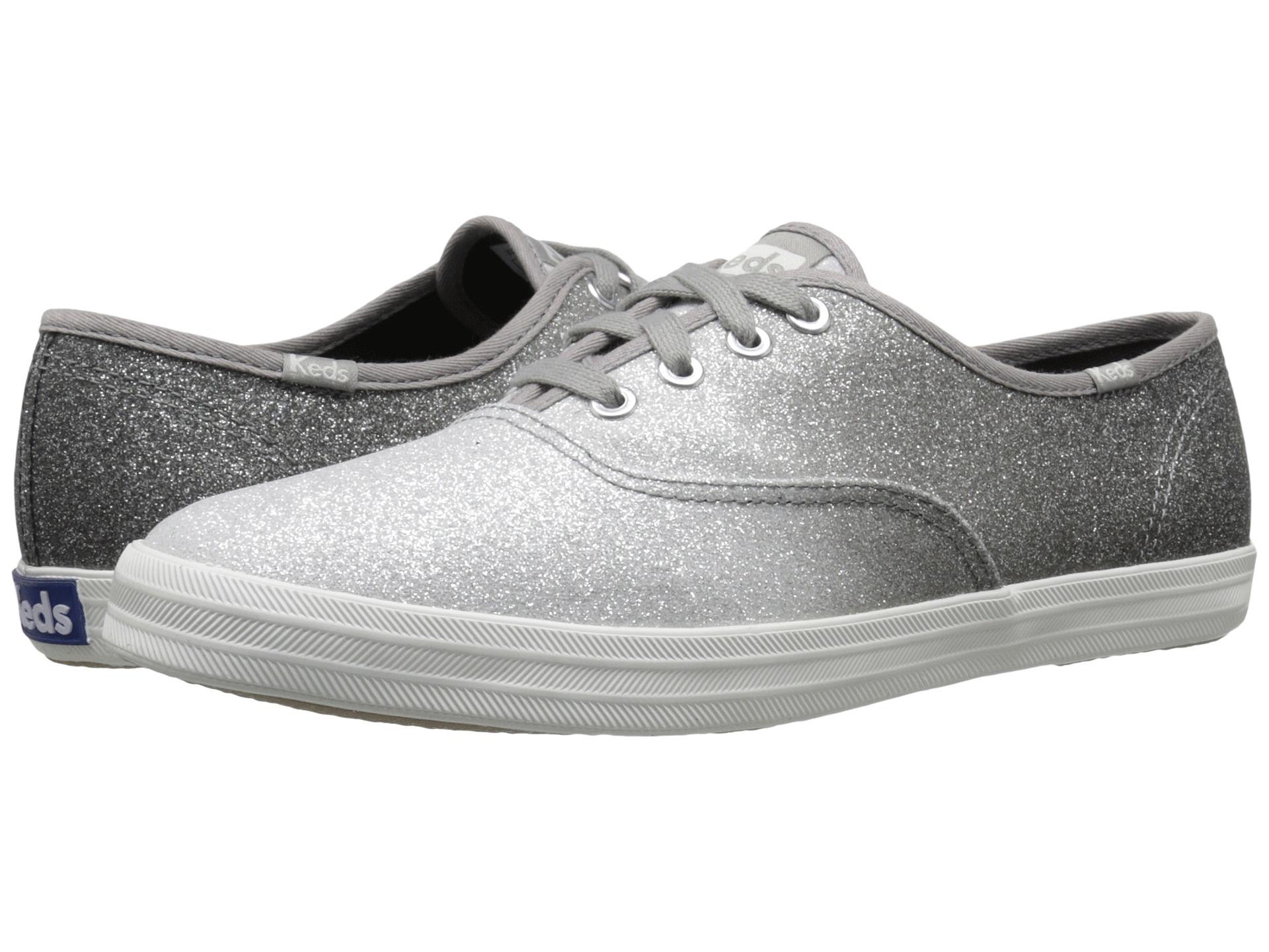 b2a30c014a9 Lyst - Keds Champion Ombre Glitter in Gray