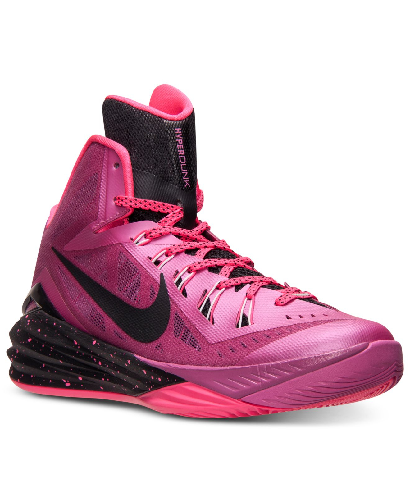 pink nike basketball shoes