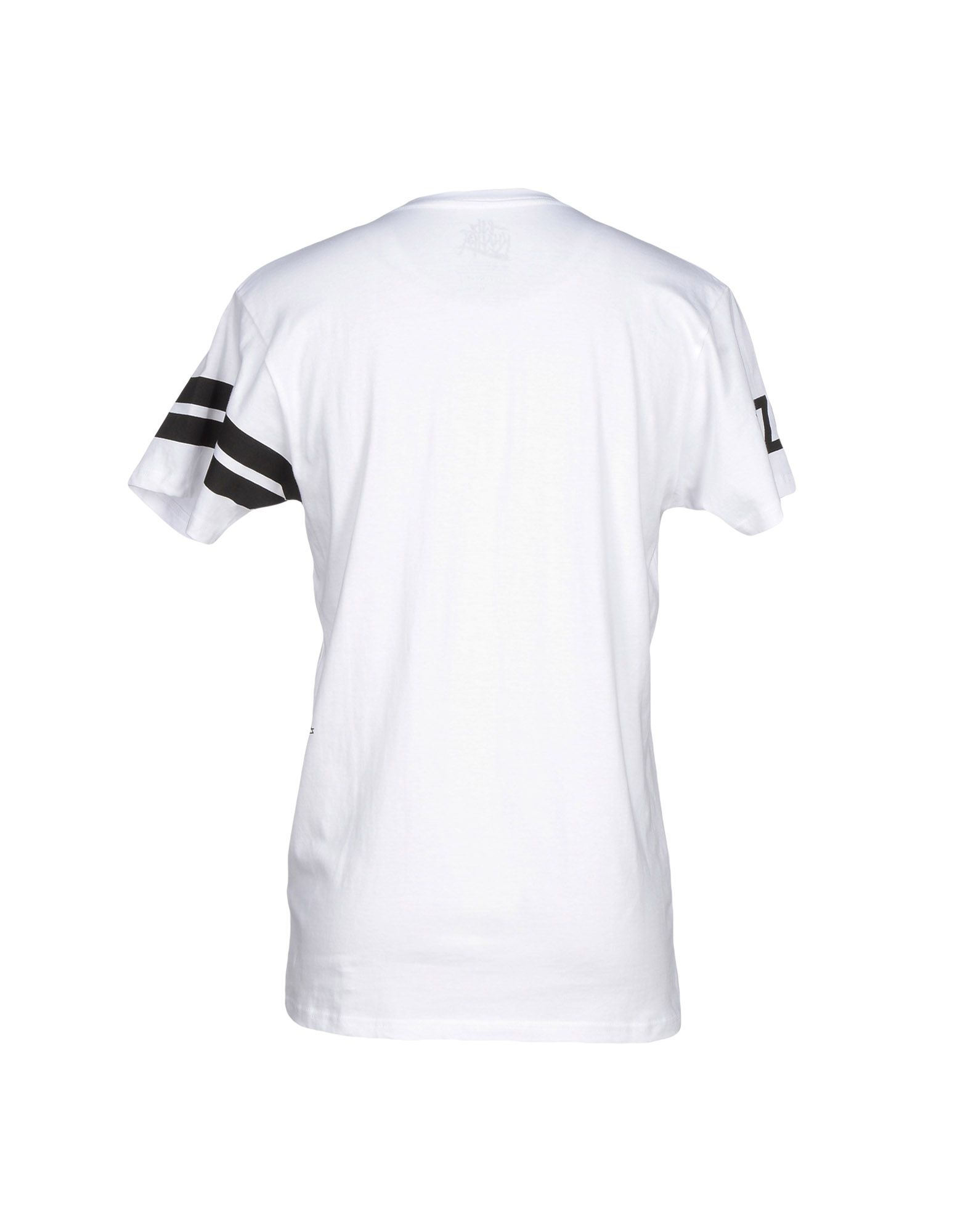 eleven paris t shirt in white for men lyst. Black Bedroom Furniture Sets. Home Design Ideas