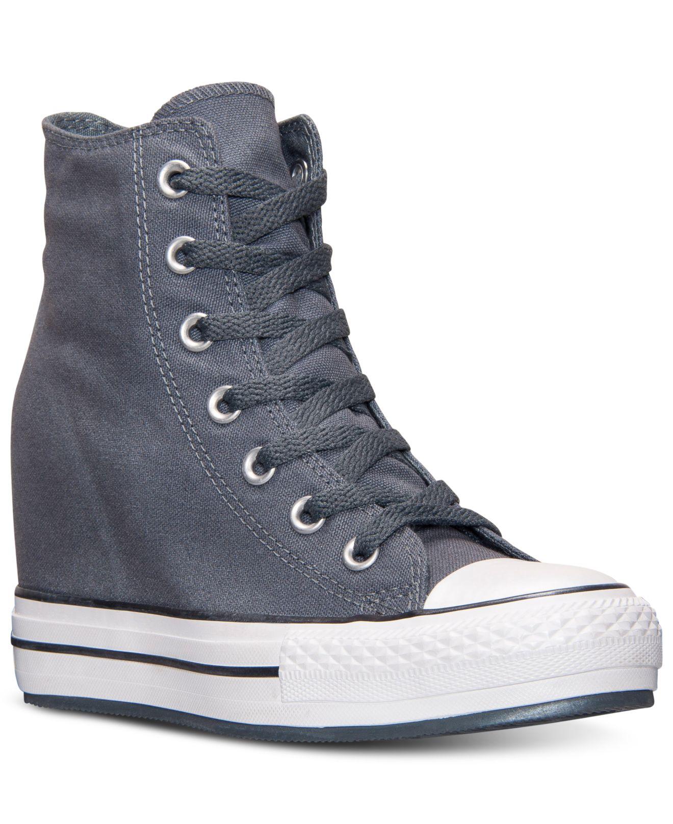 converse chuck taylor all star metallic platform plus sneakers add7ae34b