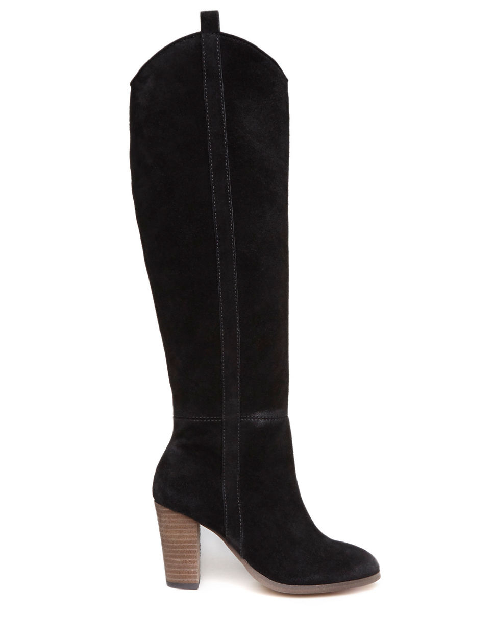 dolce vita myste suede knee high boots in black lyst