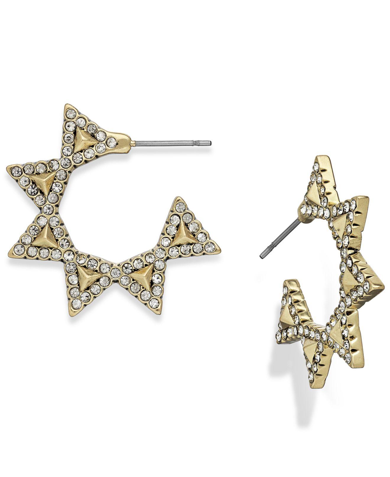 house of harlow 1960 pav 233 geodesic triangle mini hoop