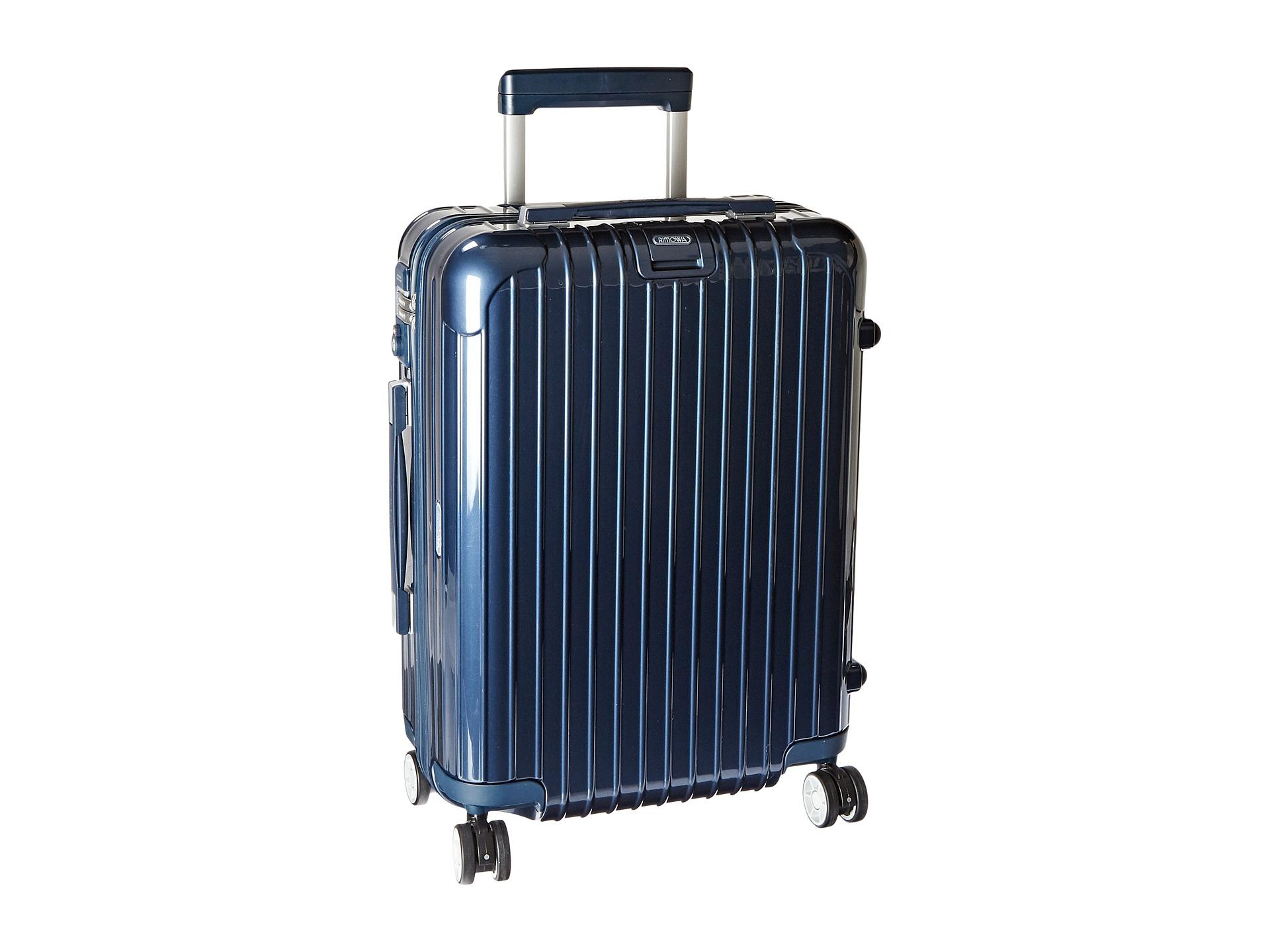 Rimowa Salsa Deluxe Cabin Multiwheel In Blue Lyst