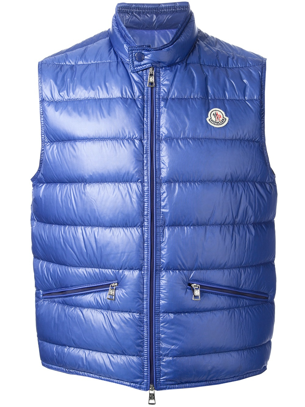 9ef714b29 Moncler Blue Gui Gilet for men