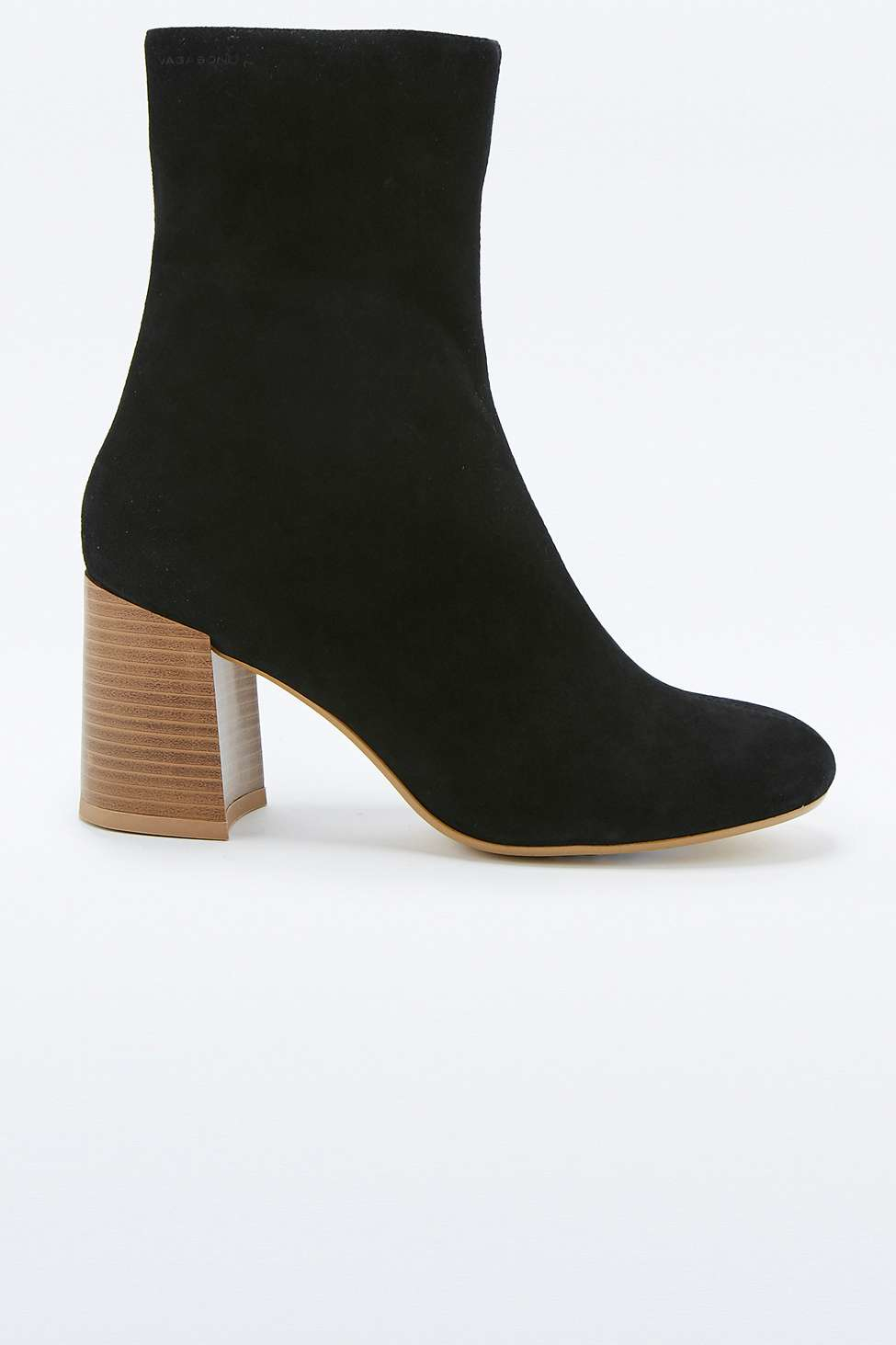 Vagabond Kaley Black Suede Calf Boots