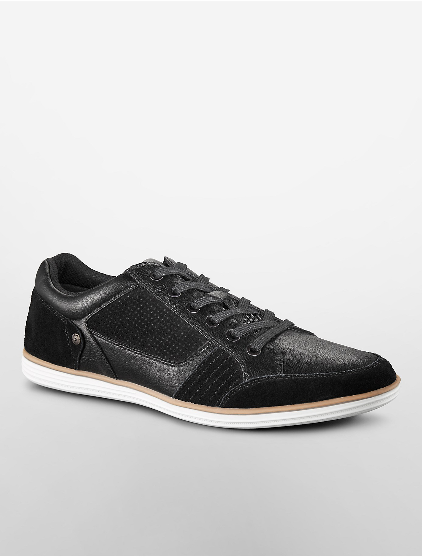 lyst calvin klein jeans scotty sneaker in black for men. Black Bedroom Furniture Sets. Home Design Ideas