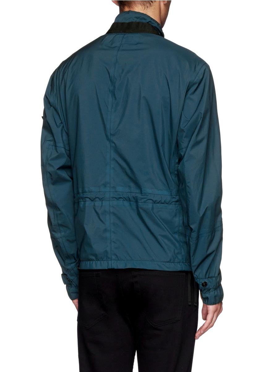 Lyst Stone Island Performance Fabric Field Jacket In