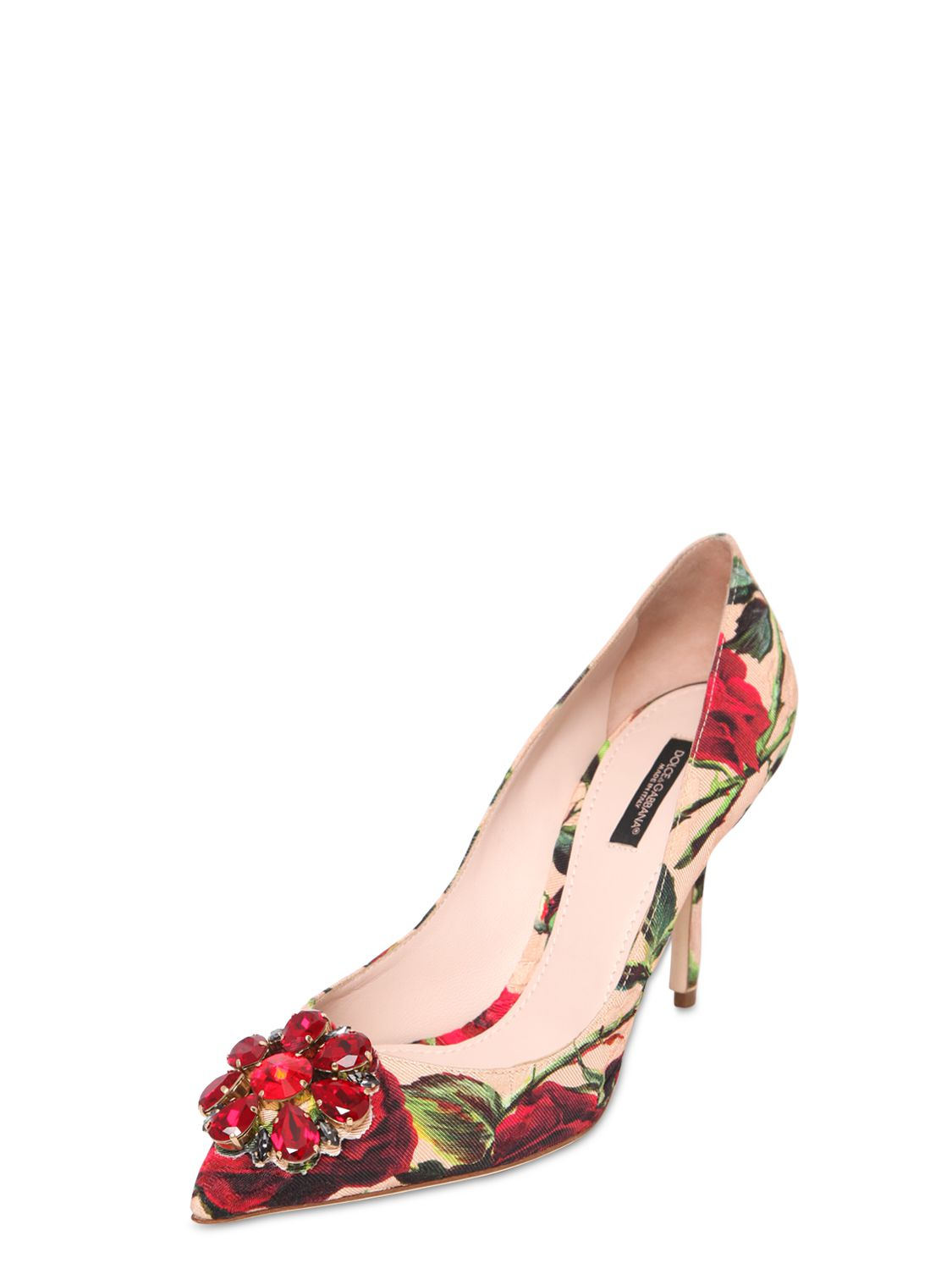 free shipping clearance store cheap sale fake Dolce & Gabbana Brocade Pointed-Toe Pumps buy cheap amazing price cheap sale choice free shipping for nice X8ekMhcme