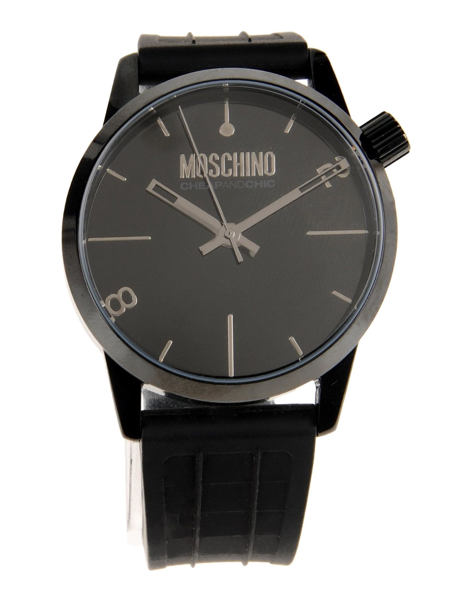 boutique moschino wrist in black lyst