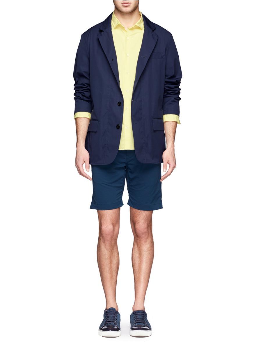 Nanamica Bayhead Club Jacket in Blue for Men