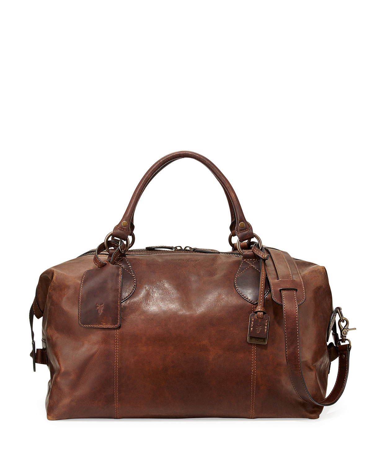 Leather Duffel Bags. Luggage & Bags / Bags / Duffel Bags. of Results. Sort by: Handmade Phive Rivers Men's Leather Travel Duffel Bag (Tan) (Italy) 1 Review. More Options. Quick View Alberto Bellucci Milano Italian Leather Carry-on Overnight Getaway Duffel Bag. SALE.