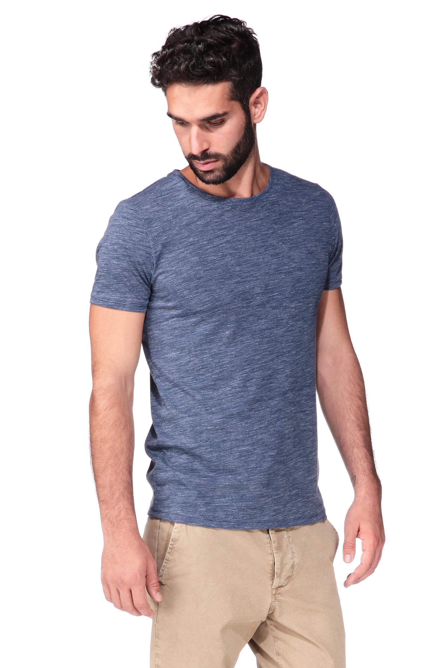 esprit short sleeve t shirt in blue for men lyst. Black Bedroom Furniture Sets. Home Design Ideas