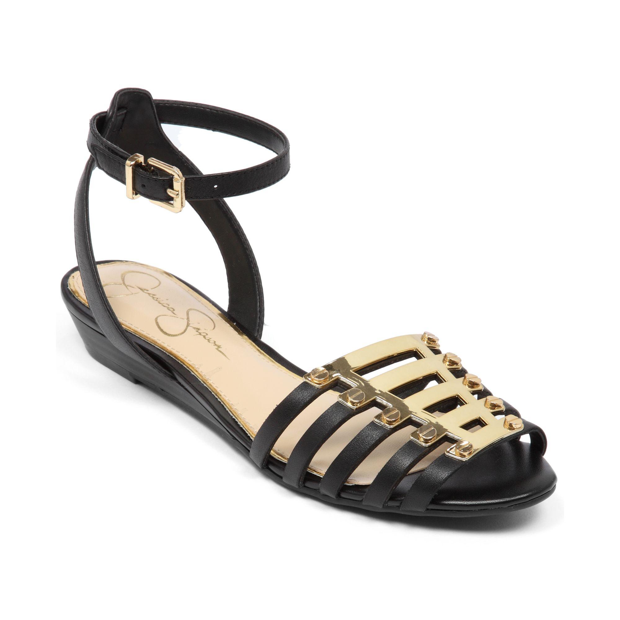 Jessica Simpson Shoes Black Flats
