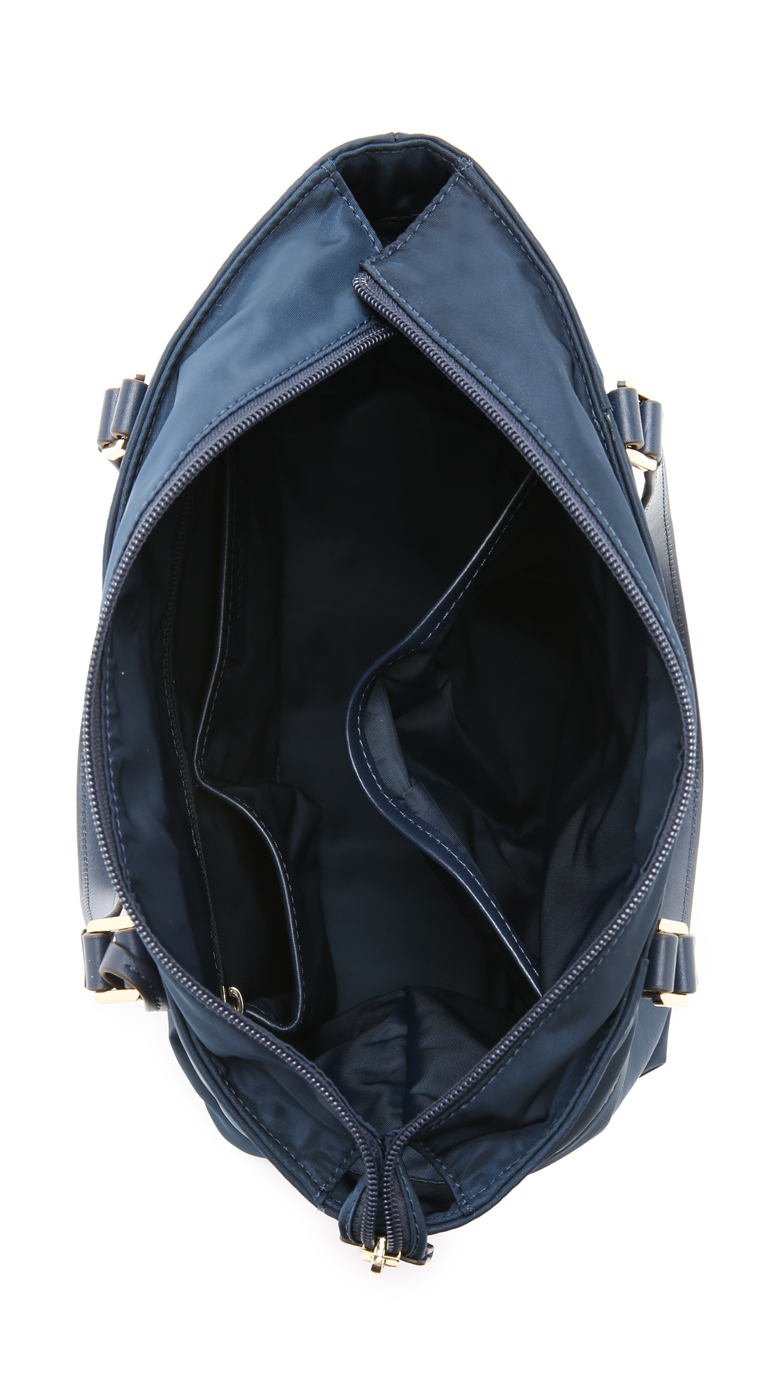 a7a4d86cb1d0 ... where to buy lyst michael michael kors morgan medium tote navy in blue  37304 1732f