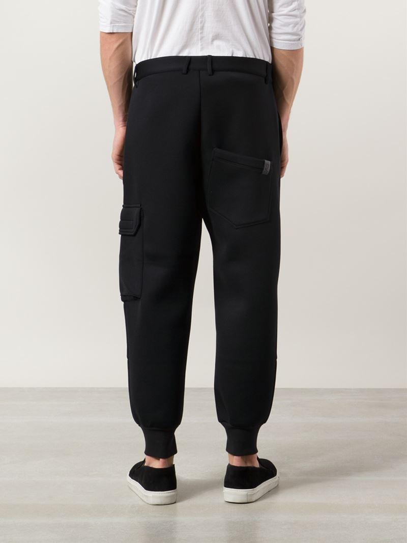 Lyst Y 3 Cargo Track Pants In Black For Men