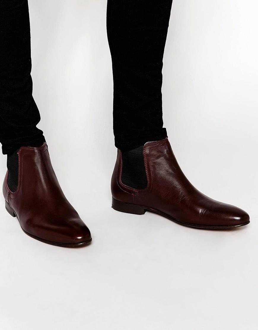 041f8c90850 Ben Sherman Red Chelsea Boot for men